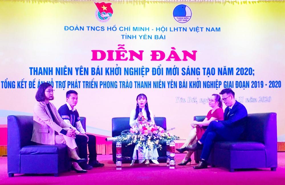 Nhiều chuyên gia tư vấn về khởi nghiệp cho thanh niên Yên Bái