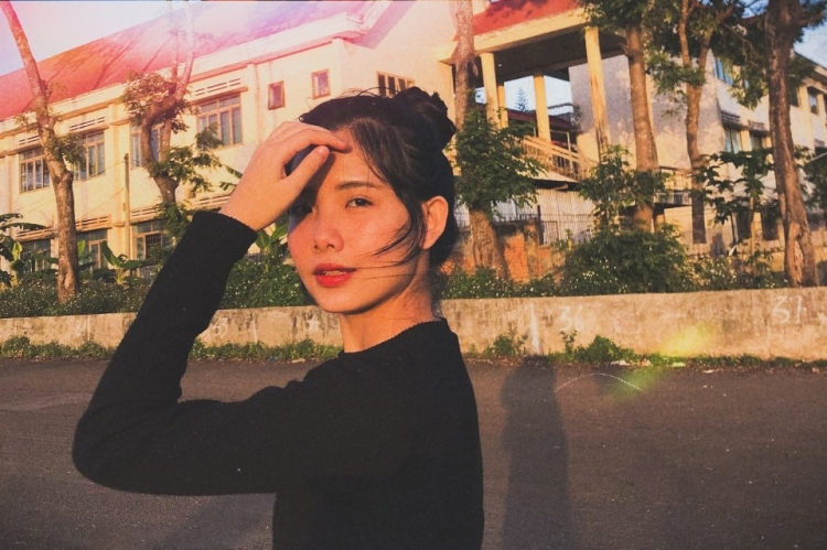 dung nhan doi thuong cuc pham cua hot girl anh the the he moi