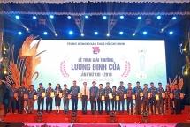 34 nha nong tre duoc trao giai thuong luong dinh cua nam 2019