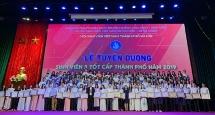 19 tập thể và 602 cá nhân được vinh danh tại Lễ tuyên dương Sinh viên 5 tốt