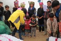 Sinh viên tình nguyện Đại học Kinh tế Quốc dân sẽ trao yêu thương cho người dân vùng cao đón tết