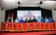 Hội LHTN Việt Nam thành phố Hà Nội được tặng cờ dẫn đầu thi đua năm 2019