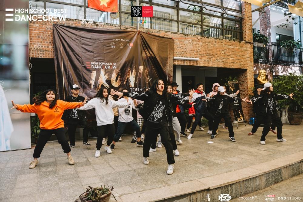 """Học sinh Hà Nội """"cháy hết mình"""" với giải đấu Hiphop"""
