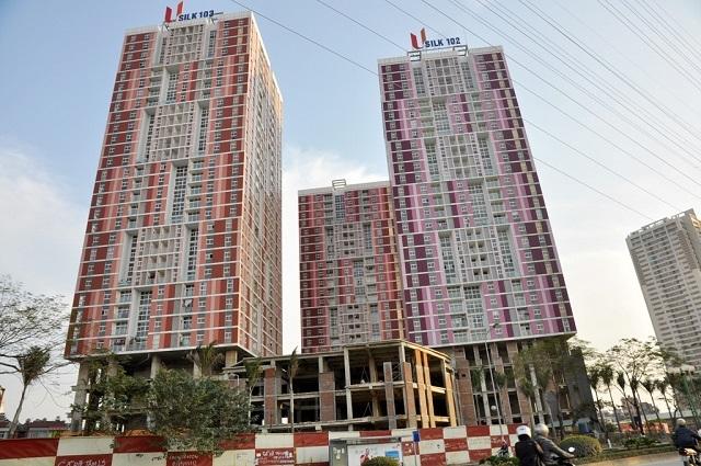 Chung cư CT1 Usilk City tại La Khê (Hà Đông) thuộc Cty cổ phần Sông Đà Thăng Long chậm khắc phục PCCC.