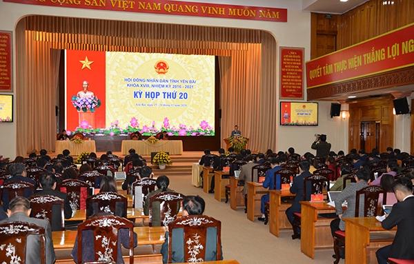 Kỳ họp thứ 20 - HĐND tỉnh Yên Bái khóa XVIII: Giải thể Sở Ngoại vụ