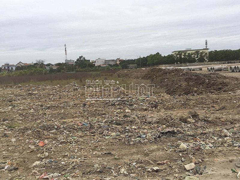 Hải Dương: Dự án do huyện làm chủ đầu tư có dấu hiệu san lấp bằng rác thải