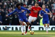 Lịch thi đấu bóng đá 17/2: Chelsea nghênh chiến Man United