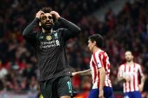 Kết quả bóng đá hôm nay: Liverpool bất lực trước Atletico Madrid