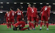 Ngược dòng hạ West Ham, Liverpool tiến gần đến ngôi vương
