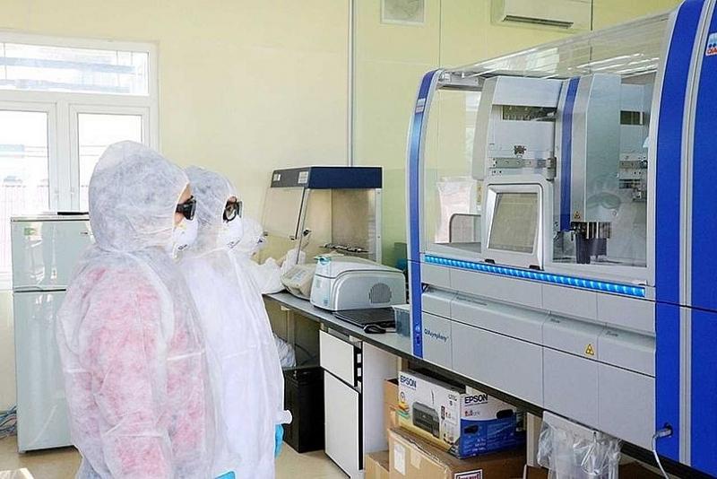 CDC Hải Dương tiếp nhận thêm 7 bộ máy xét nghiệm