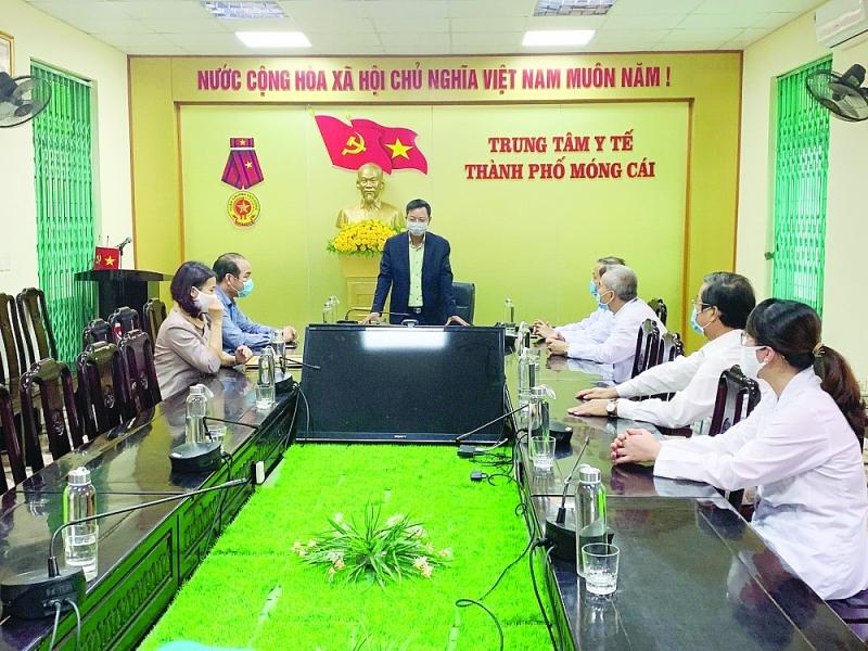Trung tâm Y tế TP Móng Cái: Vững vàng nơi chiến tuyến, tất cả vì người bệnh