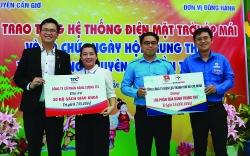 Tuổi trẻ Tổng Công ty Điện lực TP Hồ Chí Minh tự hào tiến bước dưới cờ Đảng
