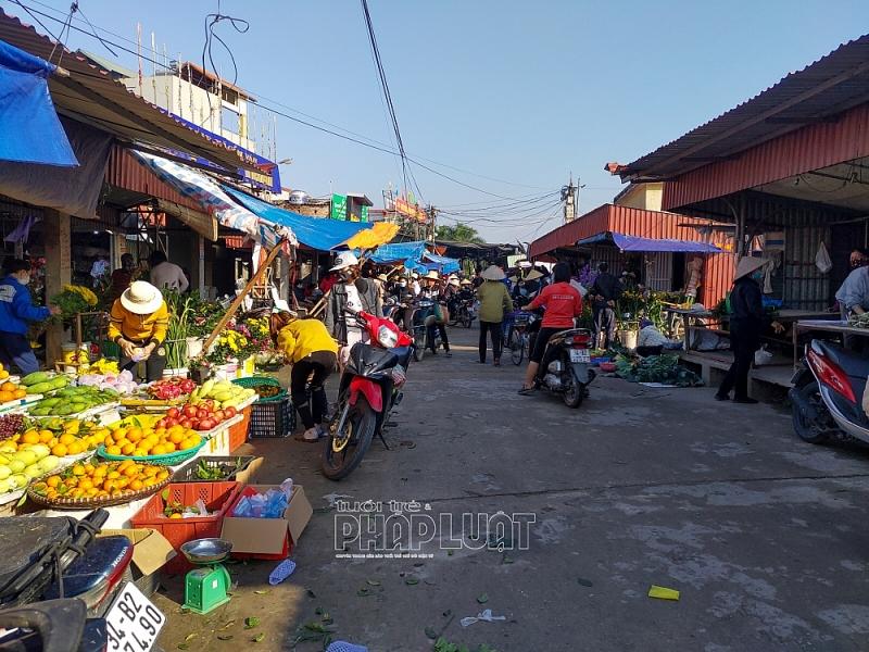 Hải Dương: Đi chợ sắm Tết trong tâm dịch Covid 19