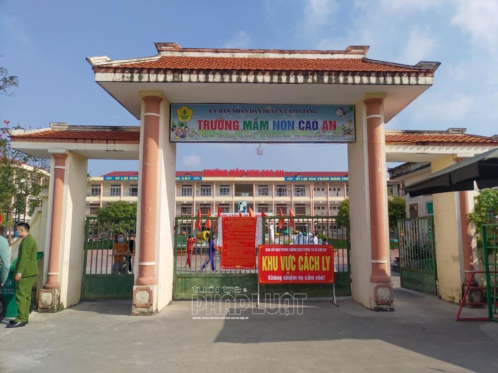Đề xuất cho học sinh tại 7 huyện tại Hải Dương đi học trở lại