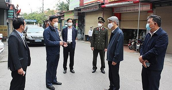 Hải Dương: Phê bình lãnh đạo huyện Kim Thành vì chỉ đạo chống dịch chưa nghiêm
