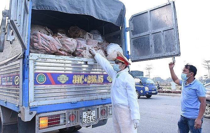 UBND tỉnh Hải Dương đề nghị UBND TP Hải Phòng tạo điều kiện cho việc trung chuyển hàng hóa