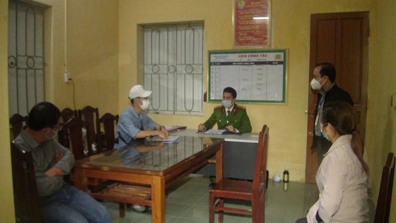 Ông Biên bị xử phạt 1 triệu đồng lái xe hành vi vi phạm các quy định về phòng chống dịch covid 19