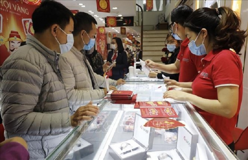 Hải Dương: Vi phạm phòng chống dịch Covid-19, một cửa hàng vàng bị phạt 20 triệu đồng trong ngày vía Thần Tài