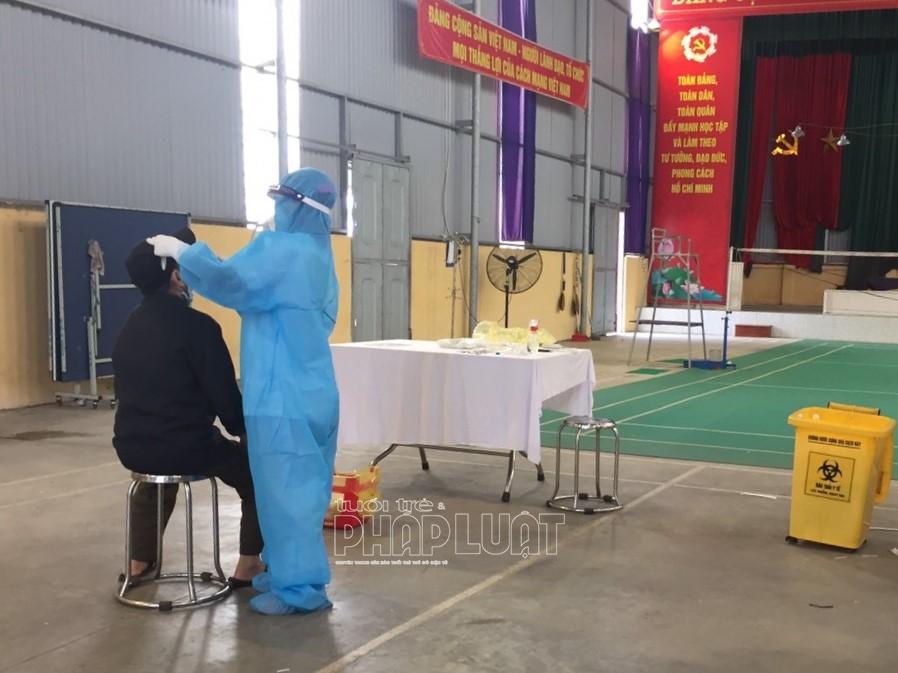 Hải Dương: Hơn 3.000 mẫu xét nghiệm công nhân làm việc tại huyện Cẩm Giàng âm tính với SARS-CoV-2
