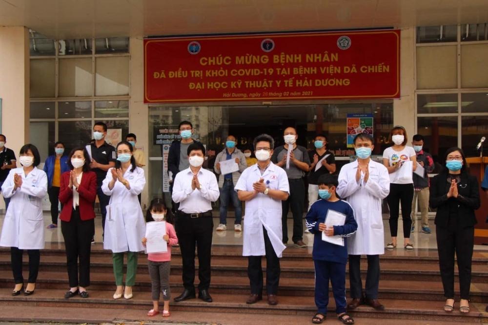 Hải Dương: 532 bệnh nhân đã được điều trị khỏi bệnh Covid-19