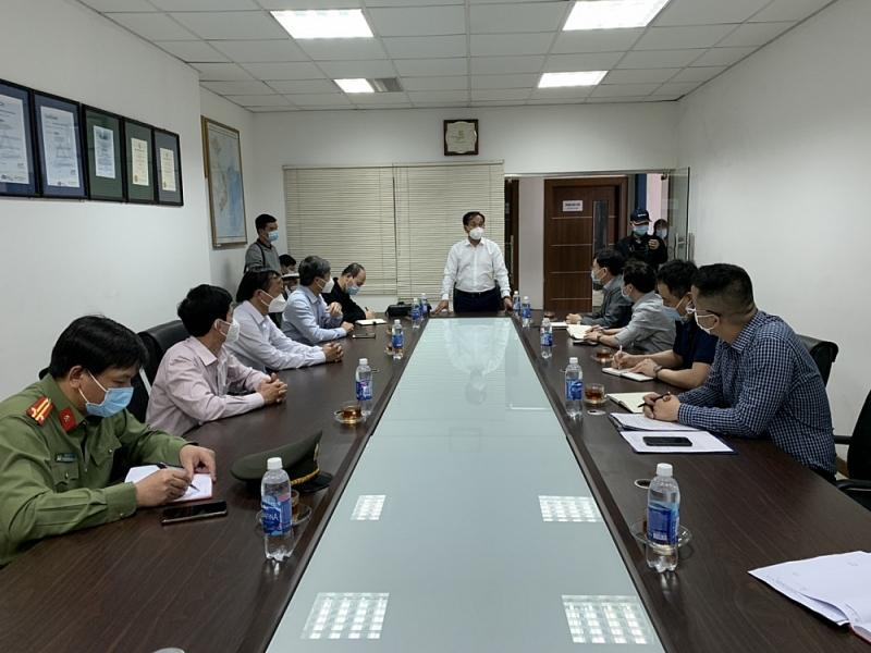 Phó Chủ tịch UBND tỉnh Lưu Văn Bản phát biểu chỉ đạo tại Công ty TNHH KPF Việt Nam