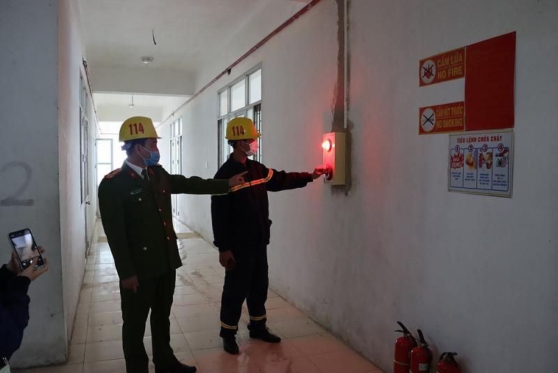 Công tác nghiệm thu được đảm bảo chặt chẽ trước khi được đưa vào sử dụng.