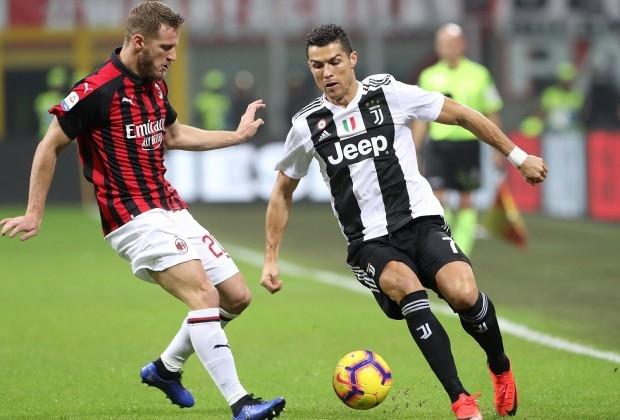 Lịch thi đấu bóng đá 4/3: Đại chiếnJuventus với AC Milan
