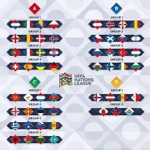 Kết quả bốc thăm UEFA Nations League: Bồ Đào Nha rơi vào bảng tử thần