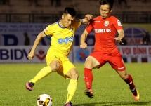 Lịch thi đấu bóng đá 14/3: Sông Lam Nghệ An tiếp Bình Dương