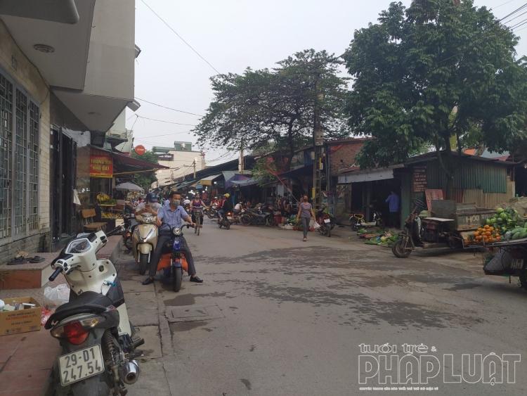 Chợ dân sinh tại Hà Nội vẫn được phép hoạt động bình thường