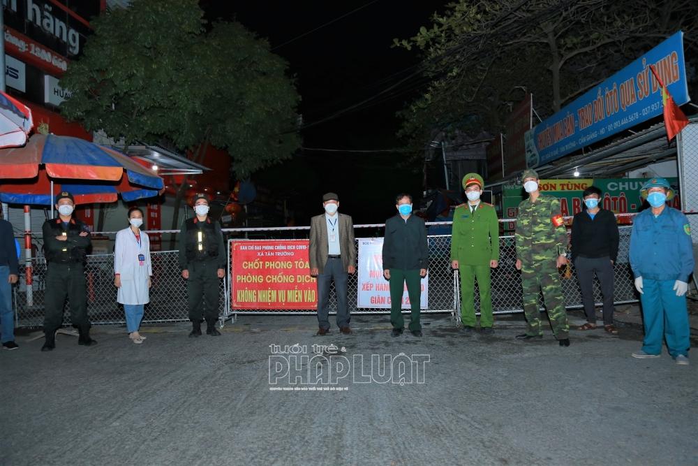 Tiếp tục phong tỏa một số địa điểm tại huyện Cẩm Giàng, Hải Dương