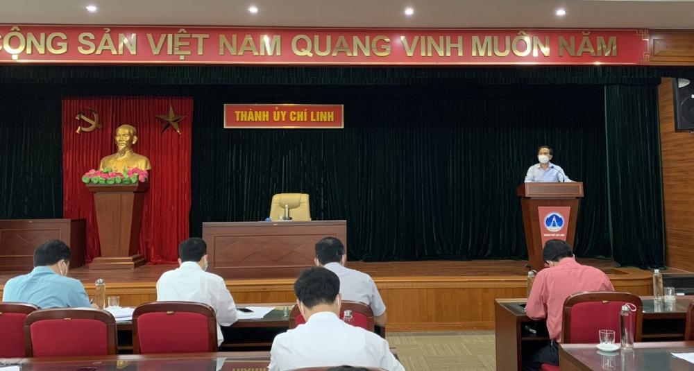 Lãnh đạo tỉnh Hải Dương làm việc tại thành phố Chí Linh và huyện Cẩm Giàng