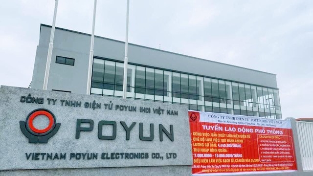 Toàn bộ công nhân Công ty POYUN có kết quả âm tính với SARS-CoV-2