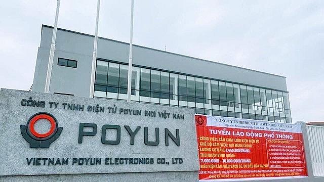 Công ty POYUN được coi là một trong những ổ dịch Covid-19 lớn nhất cả nước.