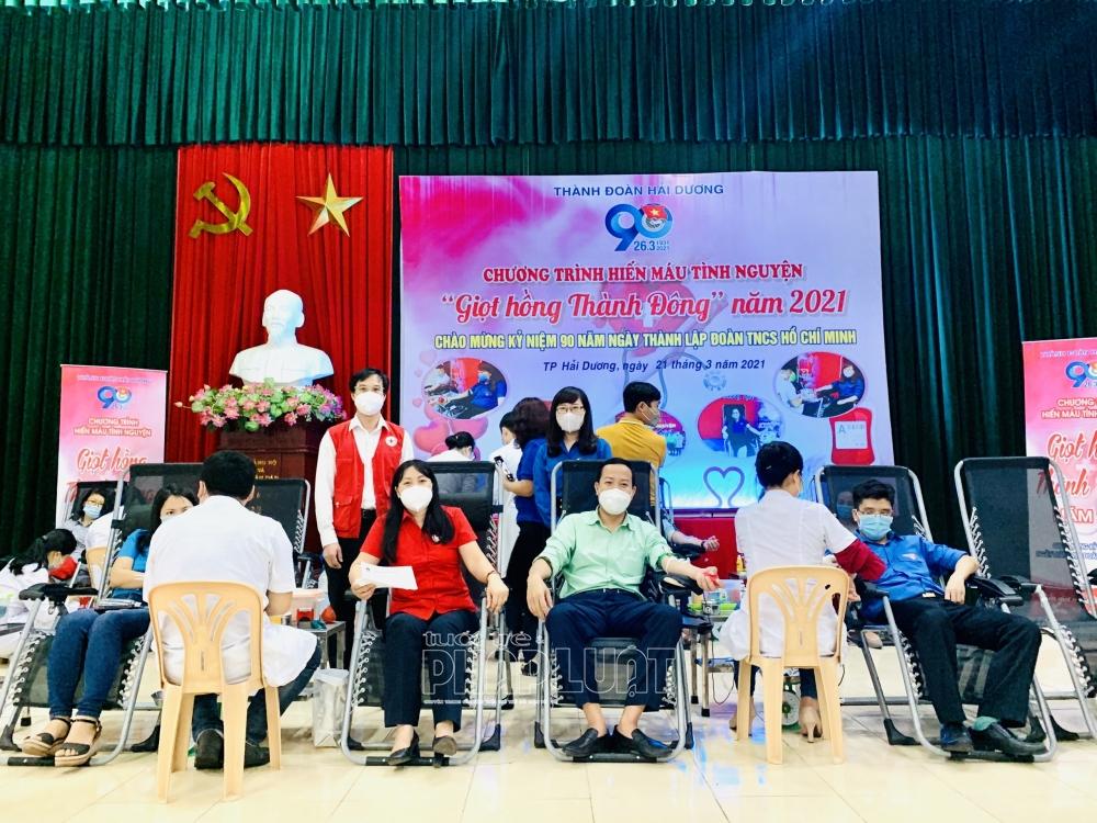 Hải Dương sôi nổi các hoạt động kỷ niệm 90 năm Ngày thành lập Đoàn TNCS Hồ Chí Minh