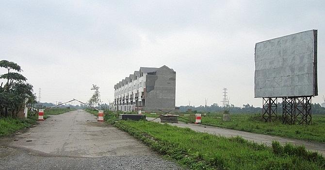Dự án huyện Mê Linh chậm tiến độ