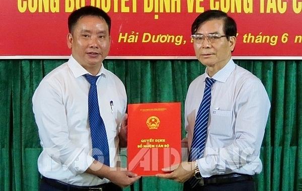 Thủ tướng phê chuẩn 2 Phó Chủ tịch UBND tỉnh Hải Dương
