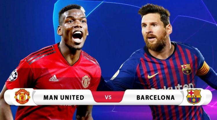MU vs Barcelona: Những con số đáng chú ý