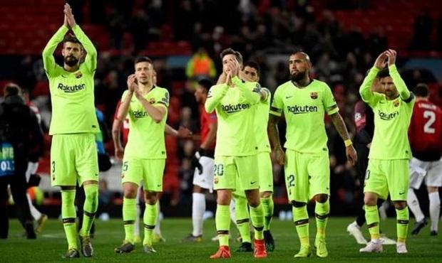 Man Utd 0-1 Barcelona: Thua trên sân nhà, Man Utd hẹp cửa đi tiếp