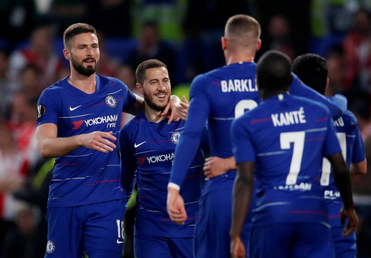 VIDEO: Chelsea 4-3 Slavia Prague, tứ kết Europa League
