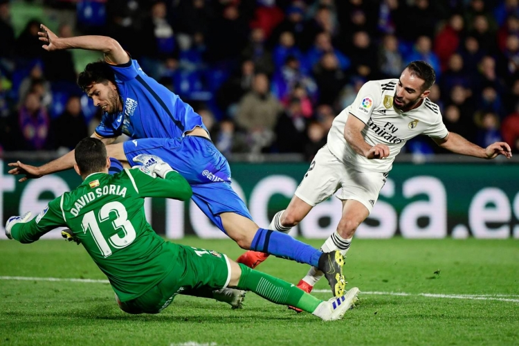 video getafe vs real madrid la liga highlights