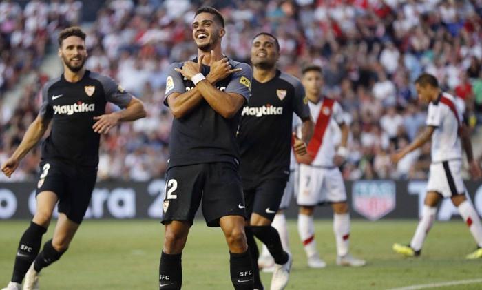 video sevilla vs rayo vallecano la liga highlights