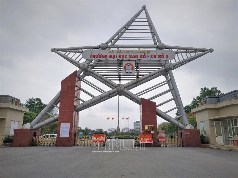 Bệnh viện dã chiến số 3 được lắp đặt, cải tạo từ khu nhà ký túc xá 3 tầng của Trường Đại học Sao Đỏ