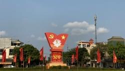 TP Hải Dương cờ hoa lộng lẫy chào mừng ngày bầu cử Đại biểu quốc hội