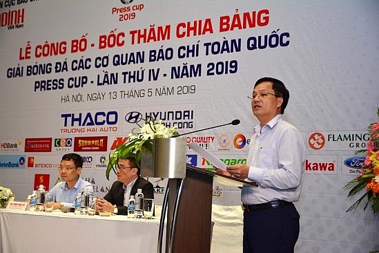 boc tham chia bang giai bong da press cup 2019 khu vuc ha noi