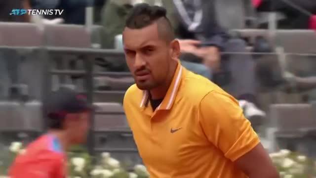 rome masters 2019 kyrgios medvedev bat ngo lon xay ra ngay vong 1