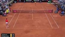 rome masters 2019 djokovic d shapovalov tien thang vao tu ket