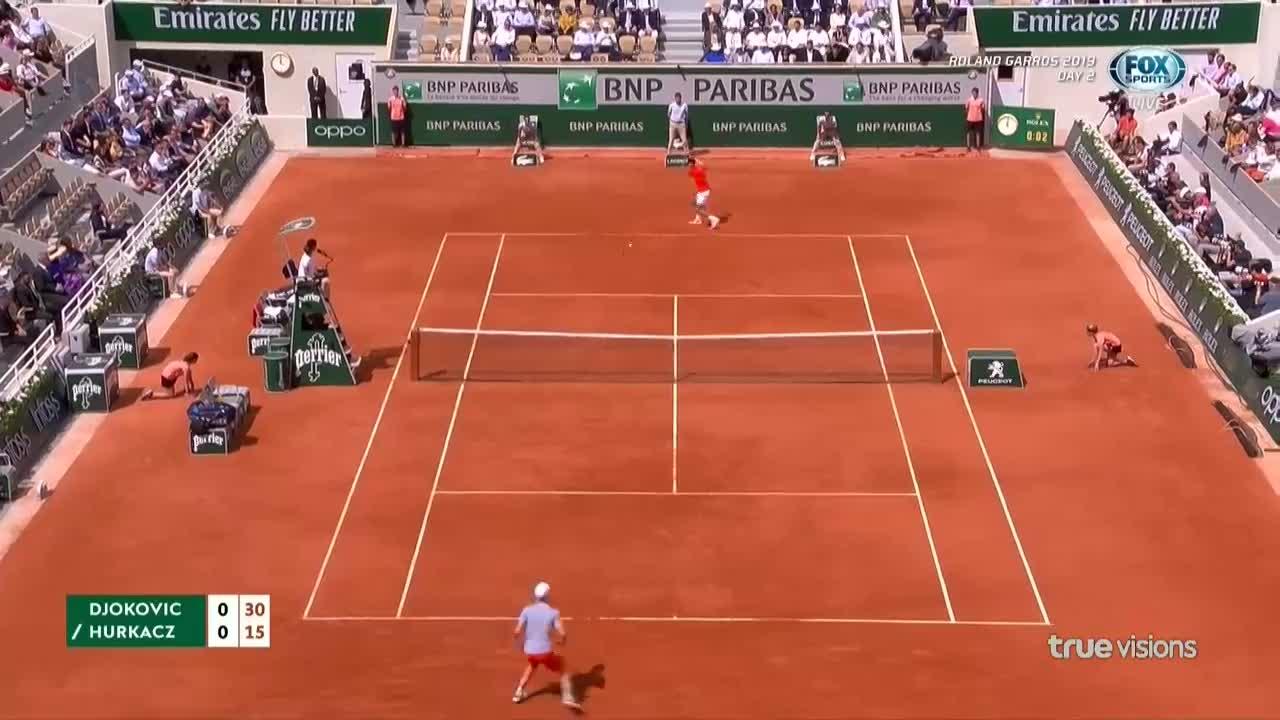Roland Garros 2019, Djokovic - Hurkacz: Hạt giống số 1 chạy đà nhẹ nhàng