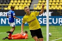 Kết quả bóng đá Bundesliga: Dortmund đại thắng trận Revierderby