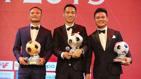 Tổng hợp kết quả lễ trao giải Quả bóng Vàng Việt Nam 2019